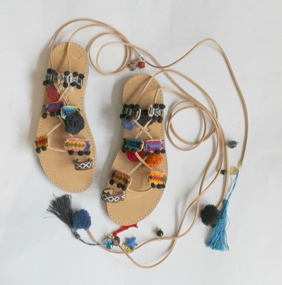 Womens Sandals, Leather Sandals, Black Sandals, Flat Sandals, Fisherman Sandals, Leather Flat Sandals, Woven Shoes, Summer Shoes