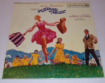 STEREO!! Original 1965 - The Sound Of Music - Original Motion Picture Soundtrack -  w/Insert Booklet - LP Vinyl Record Album Musical