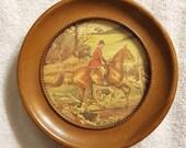 Vintage Equestrian Framed Print