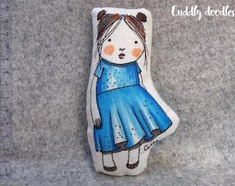 Soft fabric doll Gala