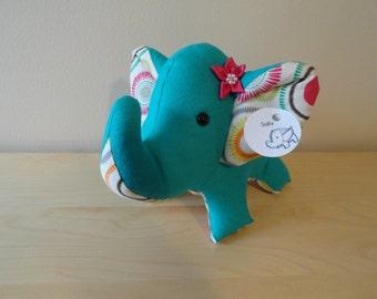 Large Stuffed Elephant- Sally