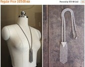 20% OFF Sweethearts Sale:  Silver and Rhiinestone Necklace