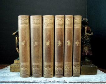 Antique Holderlin Samtliche Werke Historisch-Kritische Ausgabe 6 vols 1923 / Printed in Germany / Written in German / Friedrich Hölderlin
