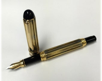 Steampunk Writing Instrument Model FP201, Fountain Pen