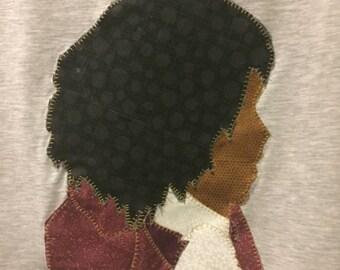 Thomas Jefferson Hamilton Musical Appliqué T-Shirt