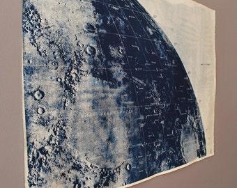 Large Lunar Cyanotype Survey A1
