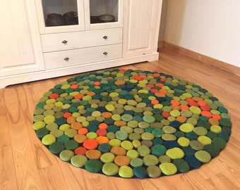 braided blue hangings rug hand art rugs carpet round wall klimt area recycled swirl embroidered abstract and modern swirls tapestries accent green artwork carpets contemporary tapestry gray black decorative orange