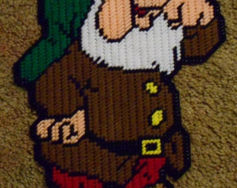 Sneezy From 7 Dwarves Plastic Canvas Pattern