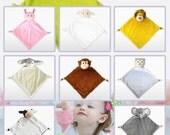 Wee Snuggle Blanket Baby cubbie Personalized blanket Monogrammed Security Blanket