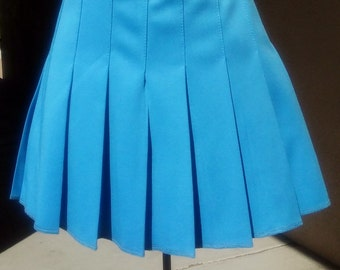 cheer pleated skirt etsy