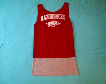 Arkansas Game Day Dress - Tailgate in Style