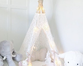 Dreamy Lace Teepee in Baby Size