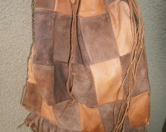 Vintage leather Purse 1960's
