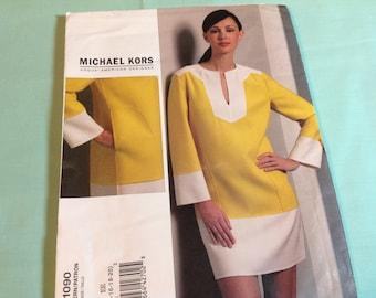 Vogue Pattern 1090, American Designer Michael Kors, dress