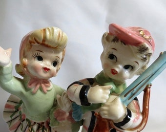 Pair of Vintage Ceramic Figurines from Ucagco