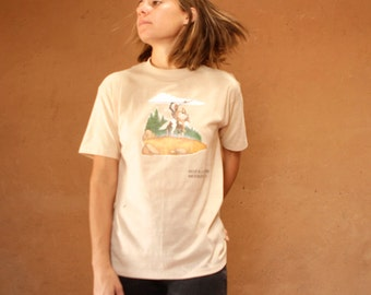 Needles, CALIFORNIA native american short sleeve 70s t-shirt