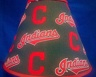 Cleveland Baseball Lamp Shade