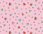 Milk Sugar Flower Pink Friends Elea Lutz Penny Rose Fabrics 1 Yard