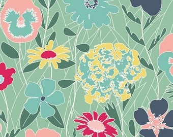 Curiosities Splendiferous Chill Art Gallery Fabrics 1 Yard