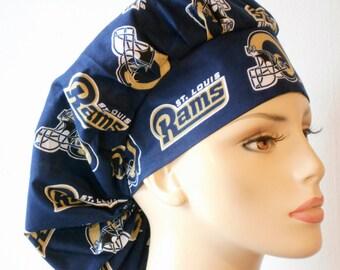 Scub Hats Bouffant  Medical St. Louis Rams
