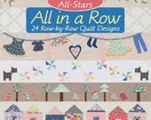 Moda All Stars All In A Row Pattern Book