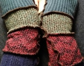 Reserved: Upcycled Arm Warmers