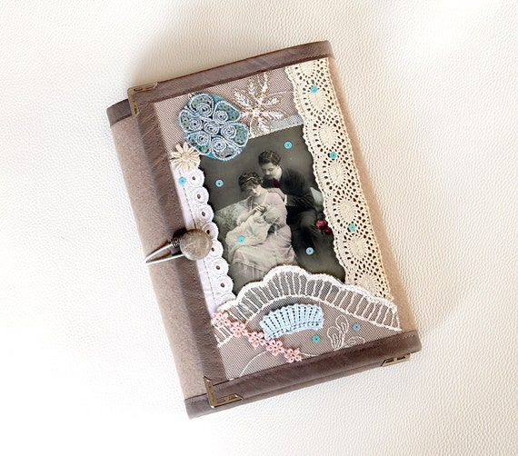 planner cover vintage card covered collage by kechelinotebook. Black Bedroom Furniture Sets. Home Design Ideas