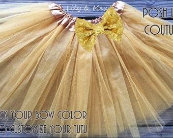Gold tutus, Gold party tutu, Dress Up tutus,Gold  Ballet tutu, Dance tutu, Princess tutu, birthday party favor tutu,