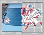 SYLVEON from Pokemon vinyl decal No. 2 Sticker for just about anything!