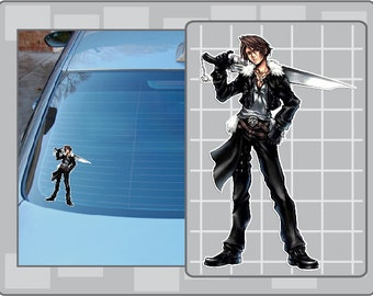 SQUALL LEONHART No. 2 from Dissidia Final Fantasy Vinyl Decal Sticker