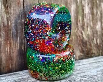 """Apprentice Series Rings """"Glitter Bomb""""  @earthchunks MADE TO ORDER"""