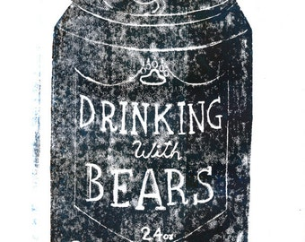 Drinking with Bears (zine)