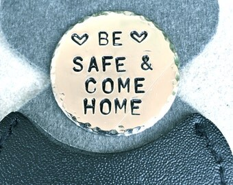 Boyfriend Gift, Prayer Keepsake, Prayer Keychain,Be Safe Come Home, One Day At A Time, Pray Faith Hope, Husband Gifts, natashaaloha