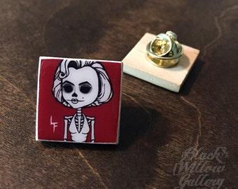 Marilyn Scrabble Pin by LF