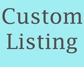 Custom Listing - Dinosaur Cake Topper