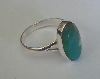 Peruvian Opal Ring Size # 8.5