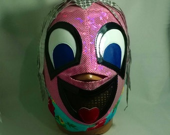 Funny Kid Wrestling Mexican Mask day of the dead Lucha Libre Mask Halloween Marvel Comics luchador Mardi Gras mask Christmas gift