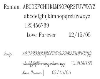 Letter Engraving service for GNGJewel's ring selection. inscription