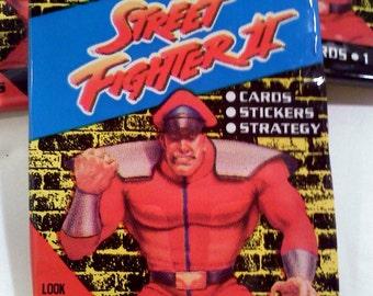 Street Fighter II VintageTrading Cards