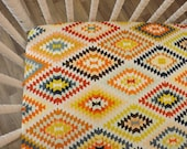 READY TO SHIP--Aztec Crib Sheet- Fitted Crib Sheet- Serape Fervor Crib Sheet