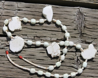 White Buffalo Turqoise Necklace