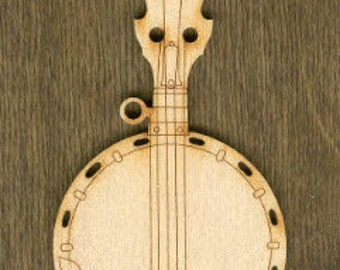 New Stubbies - Banjo (MC-004) - Laser Cut