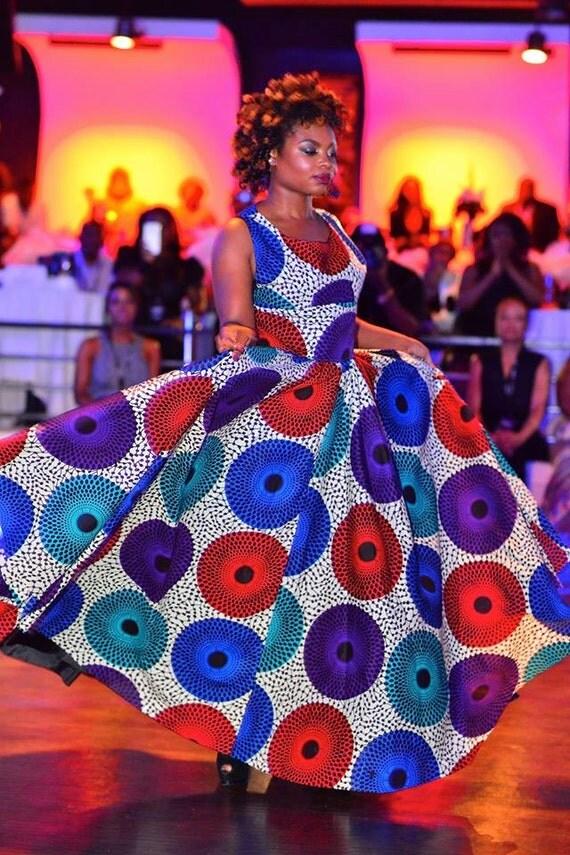 The PodotQuistt Elegant Dress African clothing for women