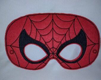 Spiderman Superhero Felt Mask