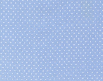 Robert Kaufman Fabric, Pimatex Basics, Pale Blue, BT-3482-16, polka dots, pin dots