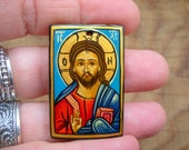 Christ the Pantocrator - Orthodox / Catholic icon - gift for dad mom sister husband child friend parents godparents grandparent family