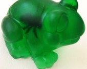 Hungry frog soap (who has eaten a fly)