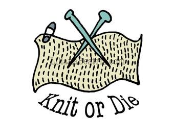 Premade Logo Customizable Pre-Made Knitting Logo Illustration Icon