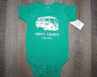Happy Camper onesie Adorable Baby!