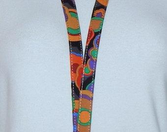Breakaway Lanyard - ID Badge Lanyard - Key Lanyard - Id Lanyard - Teacher Gift - Jewel Tones